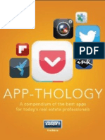 App-thology - A compendium of the best app for today's real estate professionals