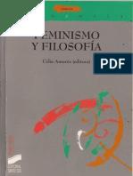 Feminismo y Filosofia (Celia Amoros)