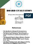 Board Evaluation