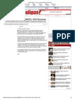 26-03-2014 'Firman Convenio ISSSTE y DIF Reynosa'