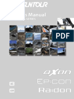 Owners Manual Axon Epicon Raidon Air Series