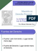JURISPRUDENCIA Y LA LEY DE AMPARO.ppt
