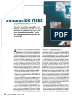 Computer Simulation Risks