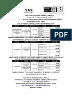 Lista de Precios Aluminio Compuesto 2012 (1)