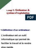 Cours Architecture de l'ordinateur Et Système d'exploitation
