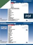Petrochemical Processes 2001