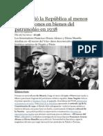 El Espolio de La Segunda Republica