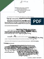 DNC Speech Handwritten Notes 1