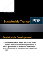 Sustainable Transp