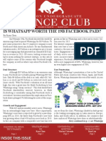 WUFC - Newsletter March 2014