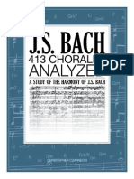J.S.bach 413 Chorales Analyzed Preview