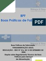 Apresentação BPF SEBRAE Panificação