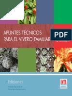 INTA- Apuntes Técnicos para el Vivero Familiar. Con enfoque agroecológico.