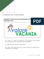 Bando Inps Valore Vacanza 2014