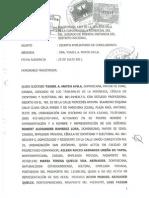 Civil - Resilicación Contrato Alquiler y Desalojo - Robert Ramírez Vs Wiston Mcdougal