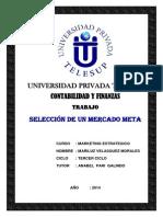Seleccion de Un Mercado Meta - Monografia