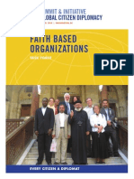 Faith Based Organizations Briefing Session Report