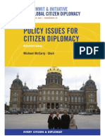 Policy Issues for Citizen Diplomacy Roundtable
