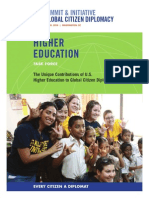 Higher Education Task Force Report
