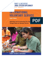 International Voluntary Service Task Force Report