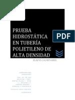 Manual de pruebas hidrostáticas