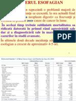 Cancer Esofag Iul 2013