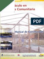 El Invernaculo en La Huerta Comunitaria - Manual de Construcción.
