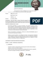 TALLER DE DISEÑO DE PROYECTOS ARTÍSTICOS
