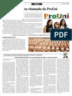 Pag 21 - O REPORTER - Ensino gratuito da música nas escolas públicas e a Inclusão cultural 18-01-2014 - Jair Gonçalves