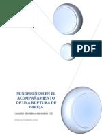 Mindfulness y Ruptura de Pareja. Minerva Gutierrez