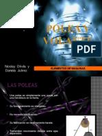 Expo Elementos Poleas y Volante Davila