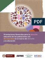 Atencion Educativa Con Discapacidad