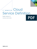 VMware Public Cloud Service Definition