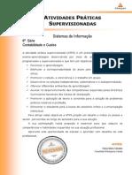 ATPS Contabilidade e Custos