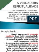 A VERDADEIRA ESPIRITUALIDADE-  CONFIÁVEIS 1