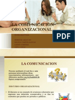 La Comunicacion Organizacional Diapositivas