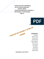 Analisis Pagare