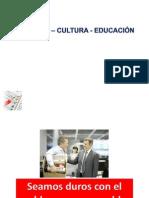 Hombre  cultura  y educación