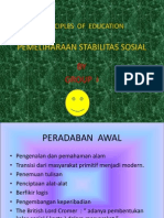 Principle of Education Presentation