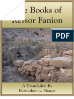 The Books of Ressor Fanion - Book I - Chapter 1