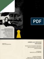 Immanuel Wallerstein. Abrir las ciencias sociales.pdf