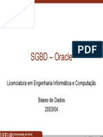 Sgbd Oracle