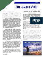 2014 april grapevine