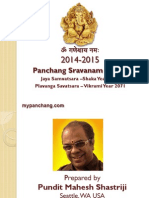 2014-15 Panchanga Sravana for Jaya Samvatsara Shaka year 1936, Vikrami Samvatsara Plavanga 2071 for India.