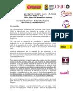 PRESENTACIÓN ANTE LA CIDH - Defensoras y BelemDoPara