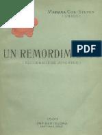Un Remordimiento (Recuerdos de Juventud). 1909
