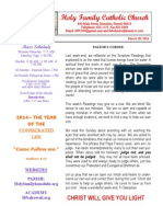 hfc march 30 2014 bulletin