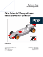 F1inSchoolsDesignProject using solidworks