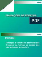 Aula 1 - Fundações