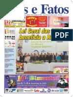Jornal Atos e Fatos - Ed. 646 - 24-10-2009